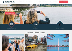 Potomac River Monuments Tour